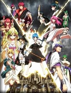 Маги: Лабиринт Волшебства / Magi: Labyrinth of Magic