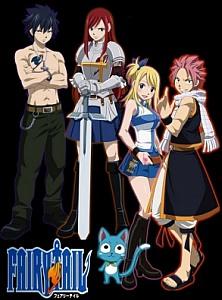 Fairy Tail / Хвост Феи сезон первый часть 1