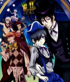 Темный дворецкий 3 сезон / Kuroshitsuji: Book of Circus