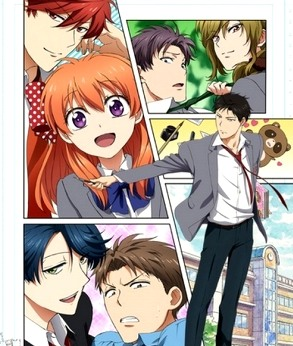 Ежемесячное седзе Нодзаки-куна / Gekkan Shoujo Nozaki-kun