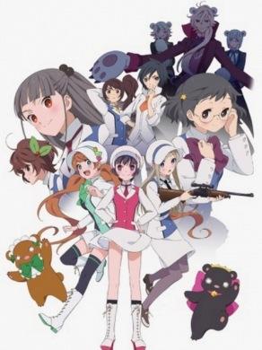 Шторм Медведя Лилии / Yuri Kuma Arashi категория ~ аниме 2015 года
