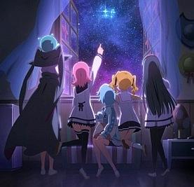 Внеклассные Плеяды / Небесные Плеяды категория ~ аниме 2015 года