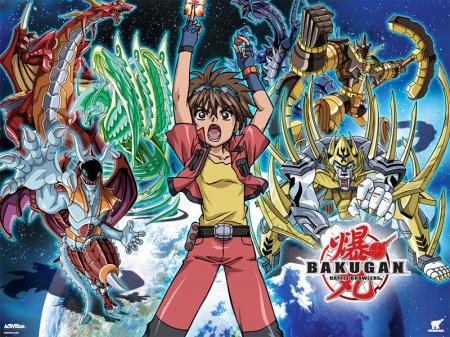 Смотреть Онлайн Отчаянные бойцы бакуган / Bakugan battle brawlers /  Bakugan TV 1