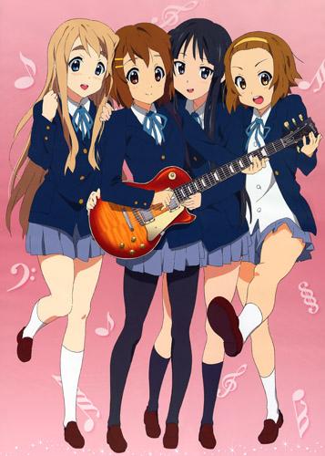 K-ON! - Легкая музыка! ~ 1-2 сезон 2010г.