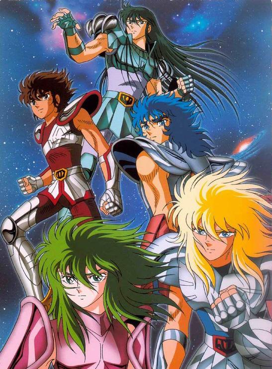 Смотреть Онлайн Рыцари Зодиака [ТВ-1] [1986] / Saint Seiya TV / Святой Сэйя