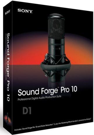 Смотреть Онлайн программа для озвучки аниме Sony Sound Forge Pro 10.0.506
