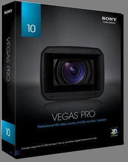 Смотреть Онлайн Видео редактор Sony Vegas Pro 10.0a.387 х32 + RUS