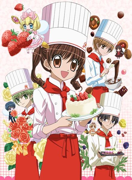 Смотреть Онлайн Великолепный Кондитер TV 1-2 + OVA ~ Yume-iro Patissiere ~ Yume-iro Patissiere SP Professional