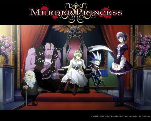 Смотреть Онлайн Murder Princess / Смертоносная принцесса русская озвучка