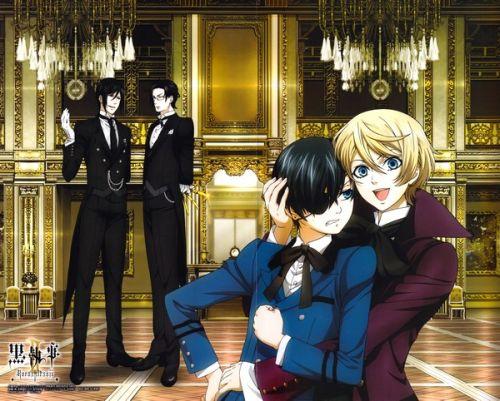 Black Butler / Kuro Shitsuji /Демон-дворецкий / тёмный дворецкий 1-2 tv