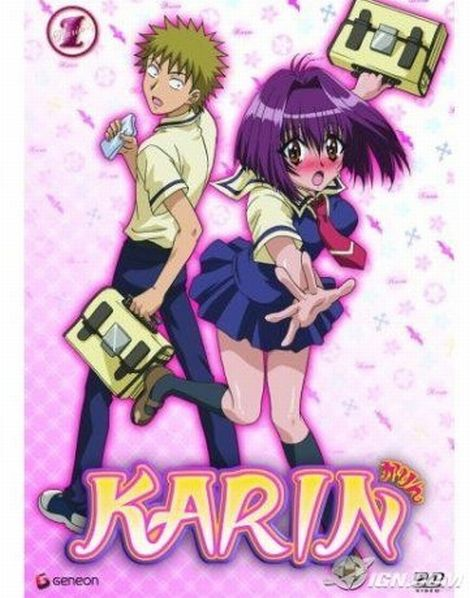 Смотреть Онлайн Карин / Karin ~ Маленькая богиня Карин ~ Mini-Goddess Karin